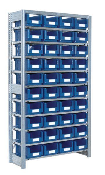 Småvarereol med SK3521-kasser