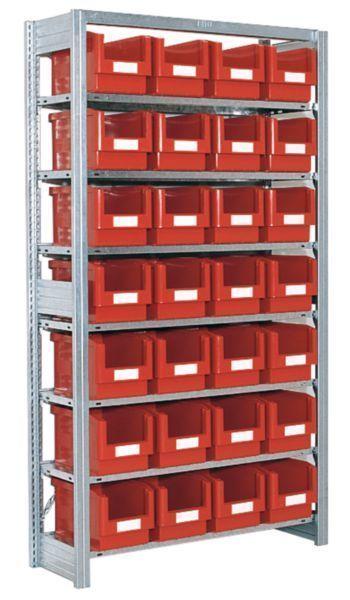Småvarereol med SK3522-kasser
