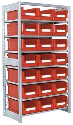 Småvarereol med SK5032-kasser