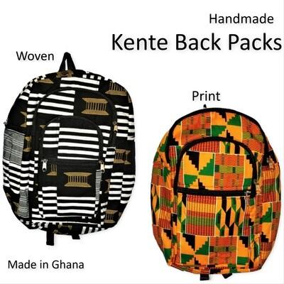 Kente Backpacks