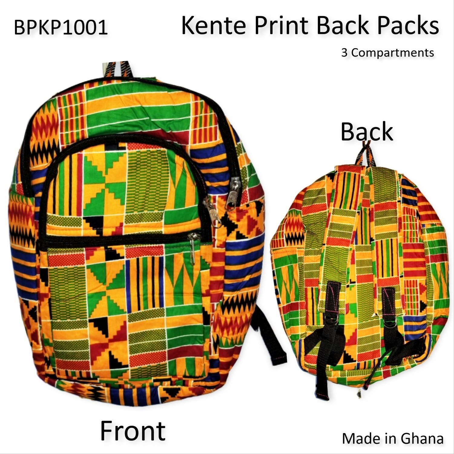 Kente Backpacks