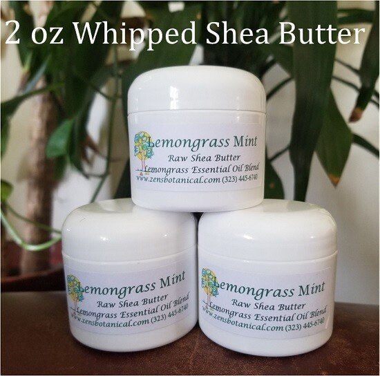 Scented Raw Shea Butter Whipped