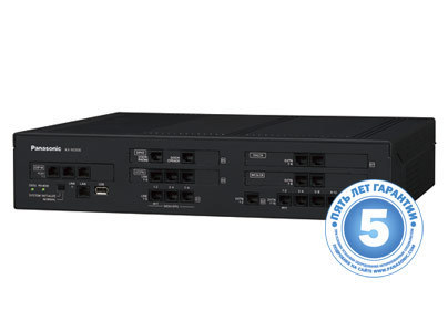 KX-NS500RU Основной блок (6 внешних/16 внутренних линий)