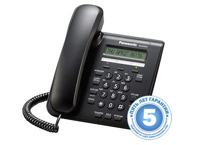 IP телефон KX-NT511ARUB