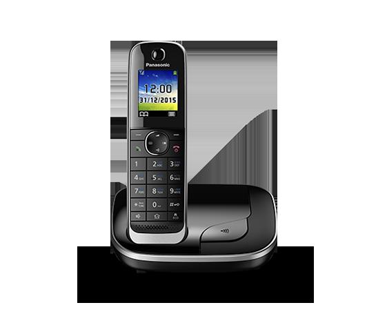 Цифровой беспроводной телефон с автоответчиком Panasonic KX-TGJ310RU (1 трубка)
