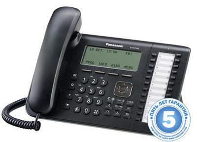 IP телефон, черный KX-NT546RU-B