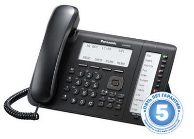 IP телефон KX-NT556RU-B