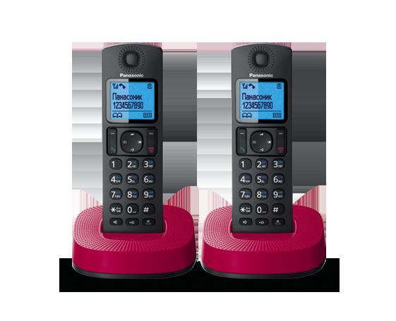 Радиотелефон Panasonic KX-TGC312RUR с двумя трубками