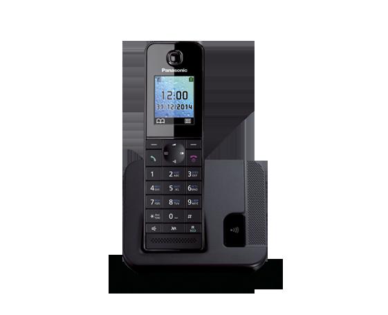 Цифровой беспроводной телефон  Panasonic KX-TGH210RUB с одной трубкой