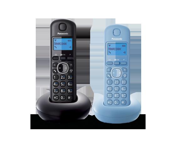 Цифровой беспроводный телефон Panasonic KX-TGB212RU2 с двумя трубками