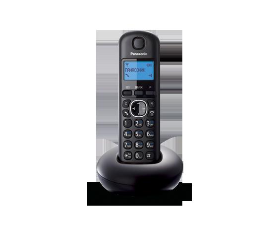 Цифровой беспроводный телефон Panasonic KX-TGB210RUB с одной трубкой
