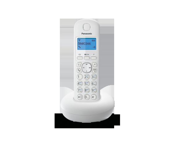 Цифровой беспроводный телефон Panasonic KX-TGB210RUW с одной трубкой