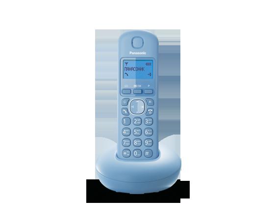 Цифровой беспроводный телефон Panasonic KX-TGB210RUF с одной трубкой