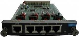 Плата 4 СО KX-NCP1180X