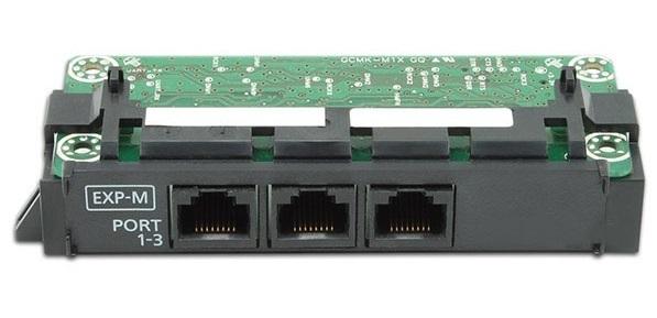 Ведущая плата расширения с 3-мя портами (EXP-M) KX-NS5130X