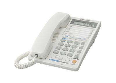 KX-TS2368RUW (белый) 2 телефонные линии