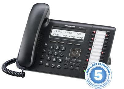 Цифровой системный телефон KX-DT543RU-B