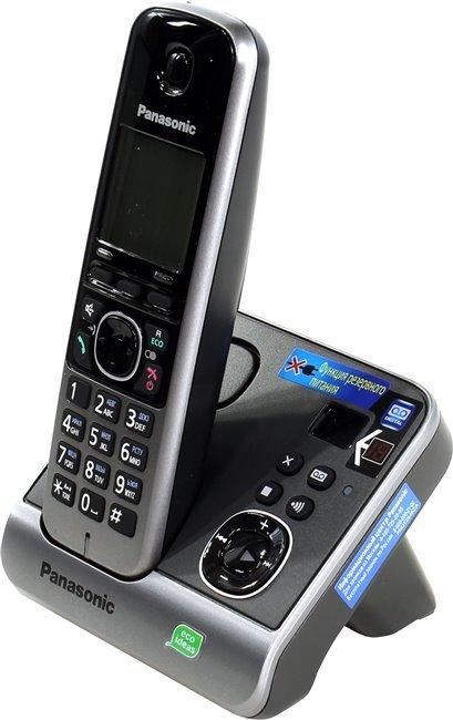 Радиотелефон Panasonic KX-TG6721RUB