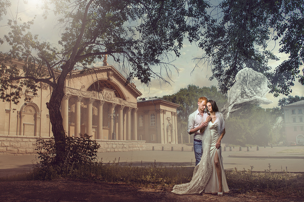 "Video_lesson ""Renaissance wedding photo edit"""