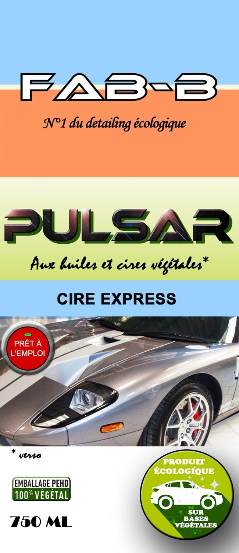PULSAR Cire Express Écologique