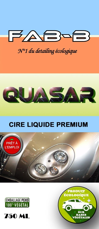 QUASAR Cire Liquide Premium Écologique