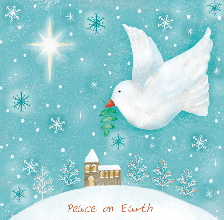 Peace on Earth - Pack of ten