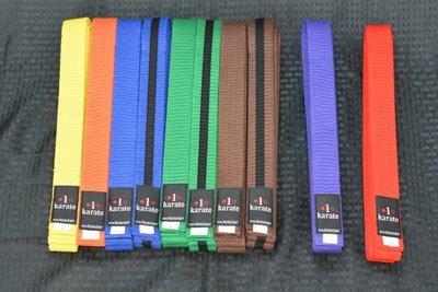 Karate Belts - Student