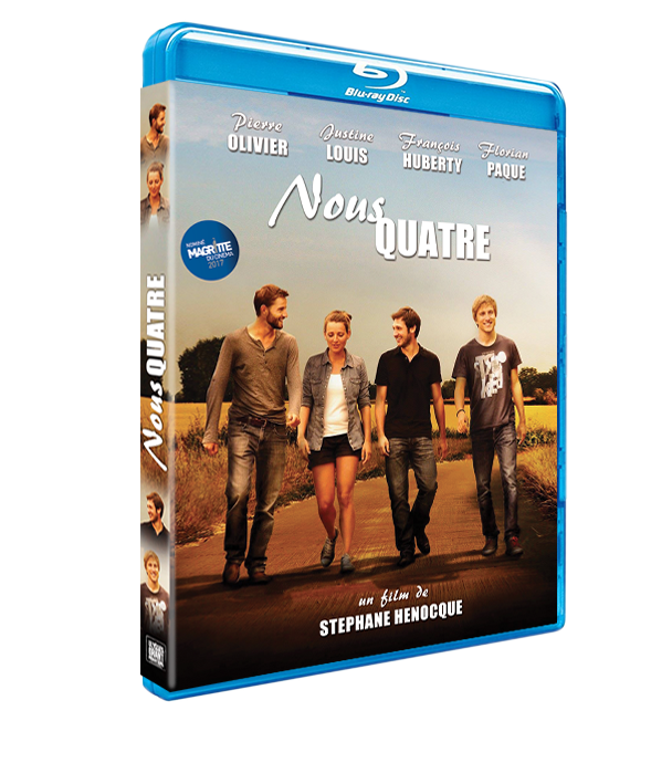 "BLURAY film ""NOUS QUATRE"""