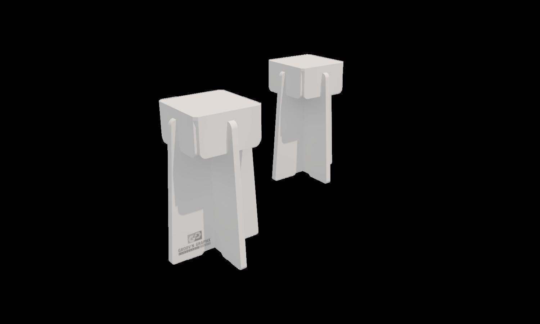 Stool 01, set of 2 units