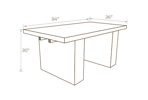 CONTEMPORARY TABLE 01, 84