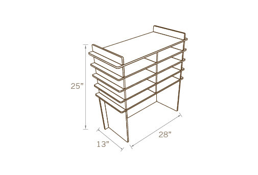 INTERIOR DIVIDER FOR TABLE