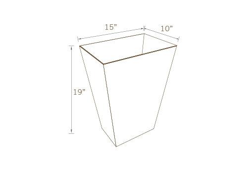 TRASH CAN (Set of 2 Units)