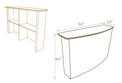 CURVED COUNTER BAR 01, 64