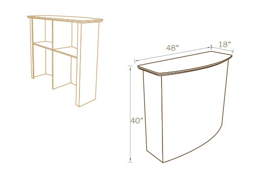 CURVED COUNTER BAR 01, 48