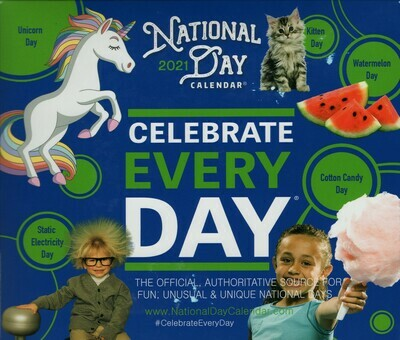 2021 National Day Page-A-Day Calendar