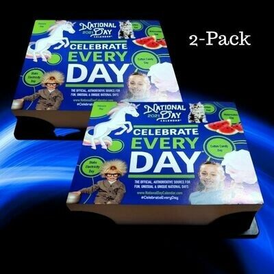 2 Pack | 2021 National Day Page-A-Day Calendar