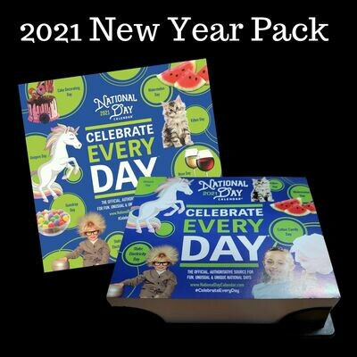 2021 New Year Pack | National Day Wall Calendar & Page-A-Day Calendar