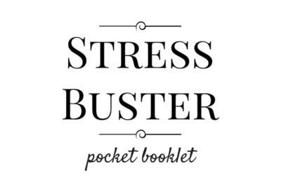 Stress Buster Pocket Booklet