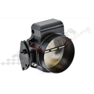 NICK WILLIAMS BILLET 102mm CABLE DRIVEN THROTTLE BODY; FINISH = BLACK