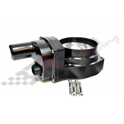 Nick Williams Billet 102mm Drive By Wire Throttle Body; Finish = Black