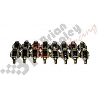 GM LS1/2/6 ROCKER ARMS W/ BTR TK001 TRUNNION KIT NEW