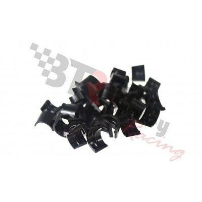 BTR Black Oxide Coated Valve Locks; 1 Radial Groove, 7° Angle, 8mm, 16 Pairs