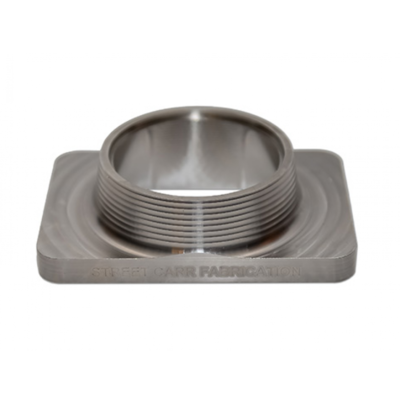 STREET CARR FABRICATION T6 FLANGE WITH SINGLE 3.00