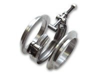 LJMS 5 INCH S400 DOWNPIPE FLANGE IN MILD STEEL WITH CLAMP