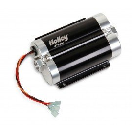HOLLEY DOMINATOR IN-LINE BILLET FUEL PUMP 200 GPH (UP TO 1800 HP EFI, 2100 HP CARB) 12-1800