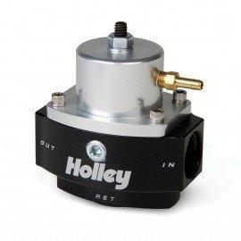 HOLLEY HP BILLET FUEL PRESSURE REGULATOR, EFI BYPASS STYLE (40-70 PSI) 12-846