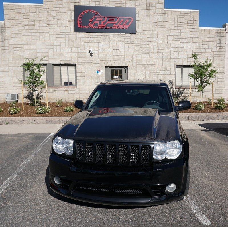 RPM WK1 Jeep Grand Cherokee Functional Cowl Induction Hood
