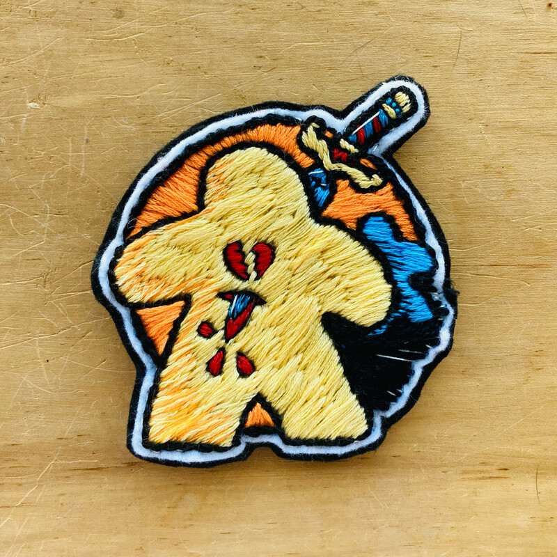 The Traitor Meeple Patch