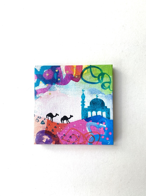 Mini Mosque turquoise