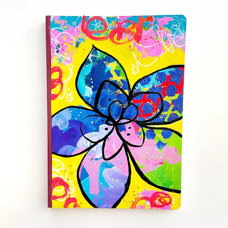 Flower Notebook - lined